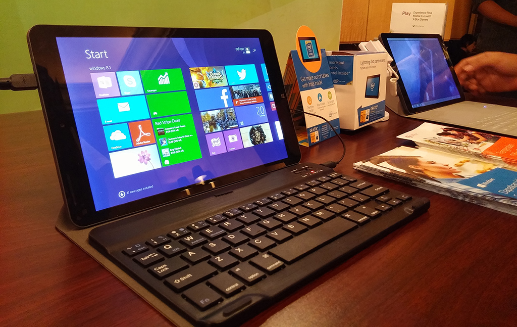 Advan Vanbook W100, Tablet Windows 8.1 Harga 2,4 Jutaan